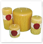 Honey Beeswax Candles Made In Canada