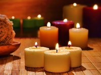 Natural Beeswax candles, ear cone candles, ceremony and chakra candles, raw honey and more